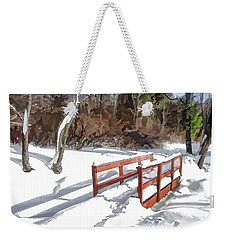 Brook Bridge Weekender Tote Bag