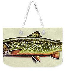 Brook Trout Id Weekender Tote Bag