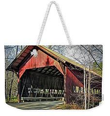 Brookdale Bridge Weekender Tote Bag
