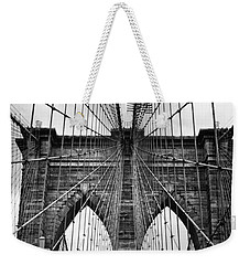 Brooklyn Bridge Mood Weekender Tote Bag