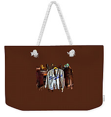 Weekender Tote Bag featuring the photograph Brooklyn Dodgers Baseball  by Thom Zehrfeld