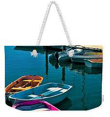 Brooklyn Harbor Weekender Tote Bag