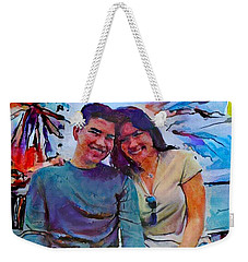 Brother And Sister Love Weekender Tote Bag