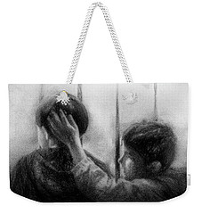 Brotherhood Weekender Tote Bag by Celso Bressan