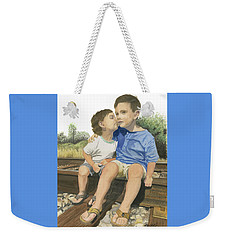 Brotherly Love Weekender Tote Bag by Ferrel Cordle