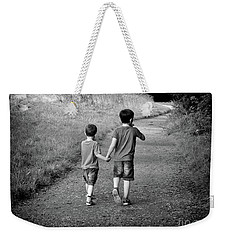 Brotherly Love Weekender Tote Bag by Lynn Bolt