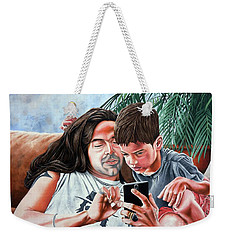 Brothers In Charge Weekender Tote Bag
