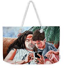 Brothers In Charge Weekender Tote Bag