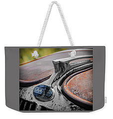 Weekender Tote Bag featuring the photograph Brothers by Jeffrey Jensen