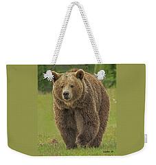 Brown Bear 1 Weekender Tote Bag