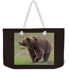 Brown Bear 14.5 Weekender Tote Bag