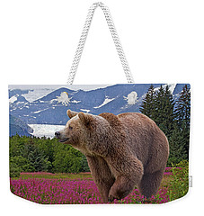Brown Bear 2 Weekender Tote Bag