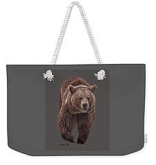 Brown Bear 8   Weekender Tote Bag