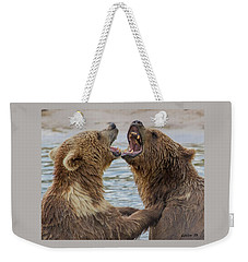 Brown Bears4 Weekender Tote Bag