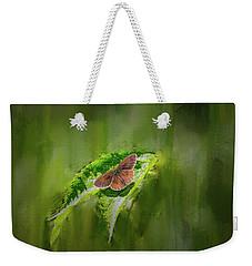 Brown Butterfly #h6 Weekender Tote Bag