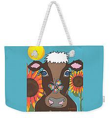 Brown Cow Weekender Tote Bag