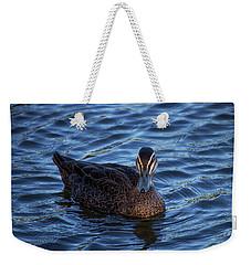 Brown Duck 2 Weekender Tote Bag