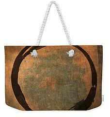 Brown Enso Weekender Tote Bag