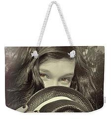 Brown Eyed Girl Weekender Tote Bag