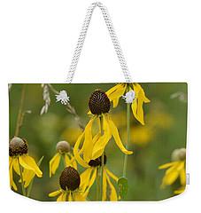 Brown-eyed Susan Weekender Tote Bag by Maria Urso