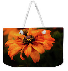 Weekender Tote Bag featuring the photograph Brown Eyed Susan by Mary Jo Allen