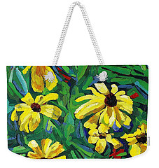 Brown-eyed Susans Weekender Tote Bag