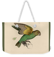 Brown-headed Parrot, Piocephalus Cryptoxanthus Weekender Tote Bag