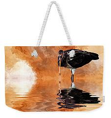 Brown Ibis Weekender Tote Bag by Cyndy Doty