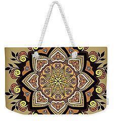 Brown Opal Weekender Tote Bag