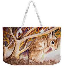Brown Rabbit Weekender Tote Bag