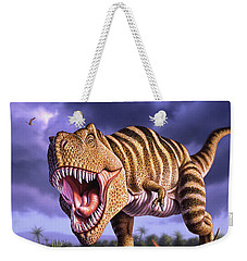 Brown Rex Weekender Tote Bag