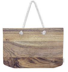 Brown Rubber Wooden Tray Handmade In Asia Weekender Tote Bag