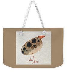 Brown Spotted Bird Weekender Tote Bag