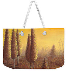 Brown Trees 01 Weekender Tote Bag