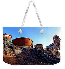 Brownes Shaft Junction Mine  Weekender Tote Bag