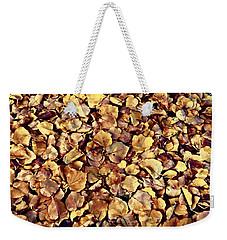Browning Leaves Weekender Tote Bag