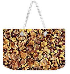 Weekender Tote Bag featuring the photograph Browning Leaves by Glenn McCarthy Art and Photography
