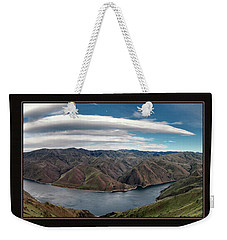 Weekender Tote Bag featuring the photograph Brownlee Triptych by Leland D Howard