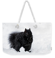 Weekender Tote Bag featuring the photograph Brrrrrr - 365-282 by Inge Riis McDonald