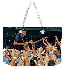 Bruce Springsteen At Fenway Park Weekender Tote Bag