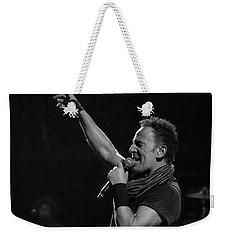 Bruce Springsteen In Cleveland Weekender Tote Bag