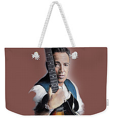 Bruce Springsteen Weekender Tote Bag by Melanie D