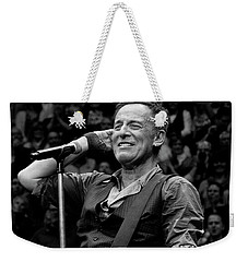 Bruce Springsteen - Pittsburgh Weekender Tote Bag