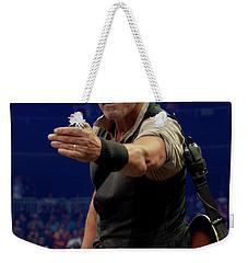 Bruce Springsteen. Pittsburgh, Sept 11, 2016 Weekender Tote Bag