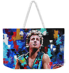 Bruce Springsteen Weekender Tote Bag