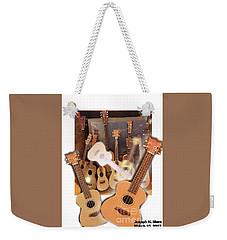 Bruce's Ukuleles Weekender Tote Bag