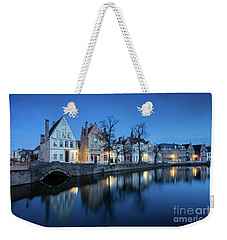 Magical Brugge Weekender Tote Bag by JR Photography