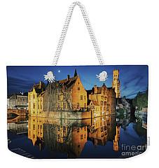 Brugge Weekender Tote Bag by JR Photography