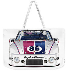 Brumos Porsche 935 Illustration Weekender Tote Bag
