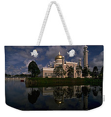 Brunei Mosque Weekender Tote Bag